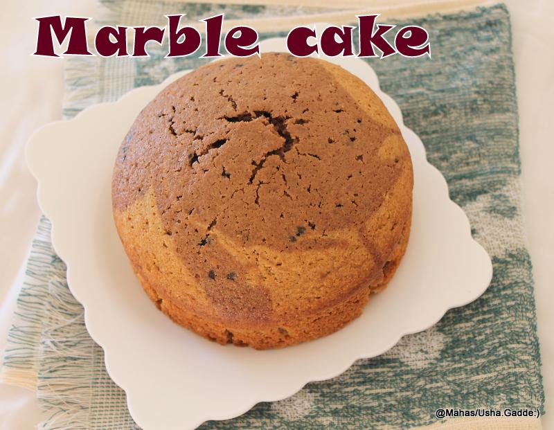 Healthy Marble Cake Recipe