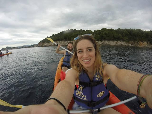 Dubrovnik sea kayaking