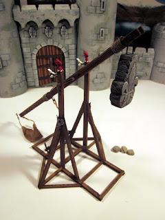 Scratch Built Bretonnian Trebuchet