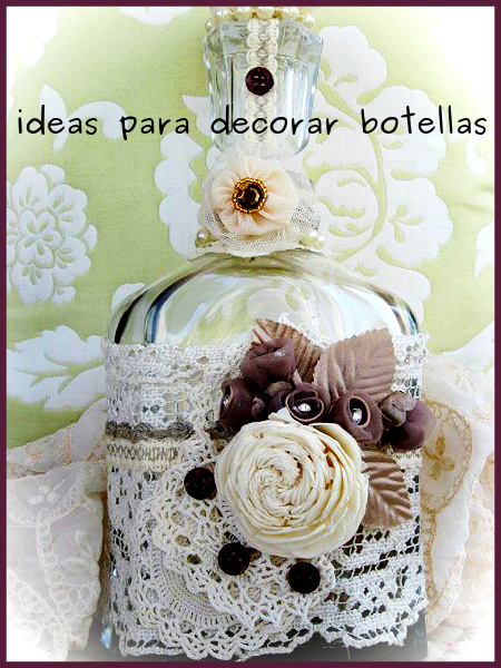 Ideas para decorar botellas for Ideas para decorar botellas
