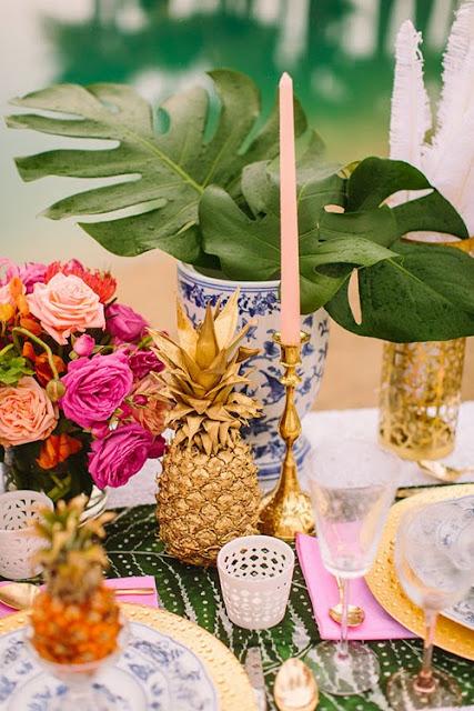 ananas,pineapple,aloha friday,art de la table