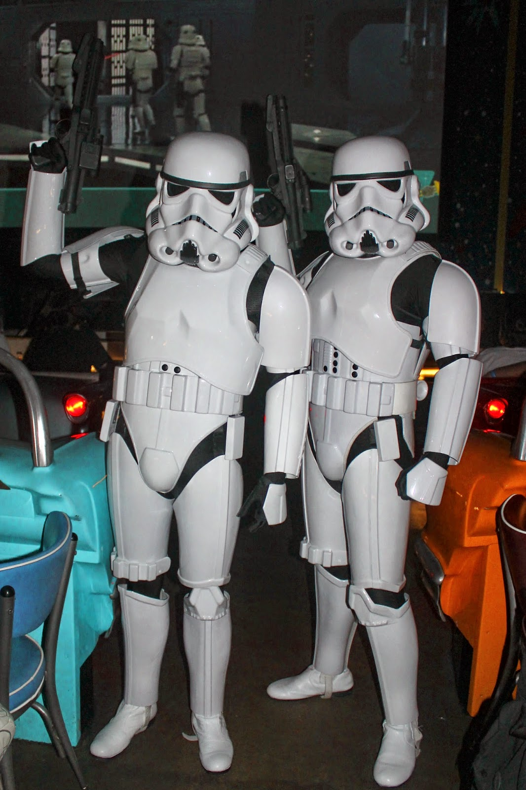 Storm Trooper Star Wars Galactic Dine In Sci Fi