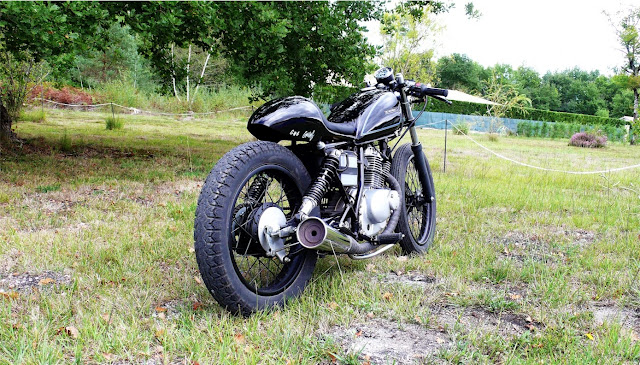 milchapitas kustom bikes suzuki gn125 by terrorcycles. Black Bedroom Furniture Sets. Home Design Ideas