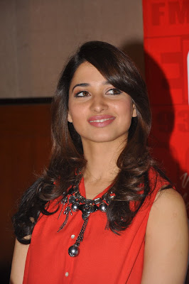 tamanna at 93.7 red fm latest photos