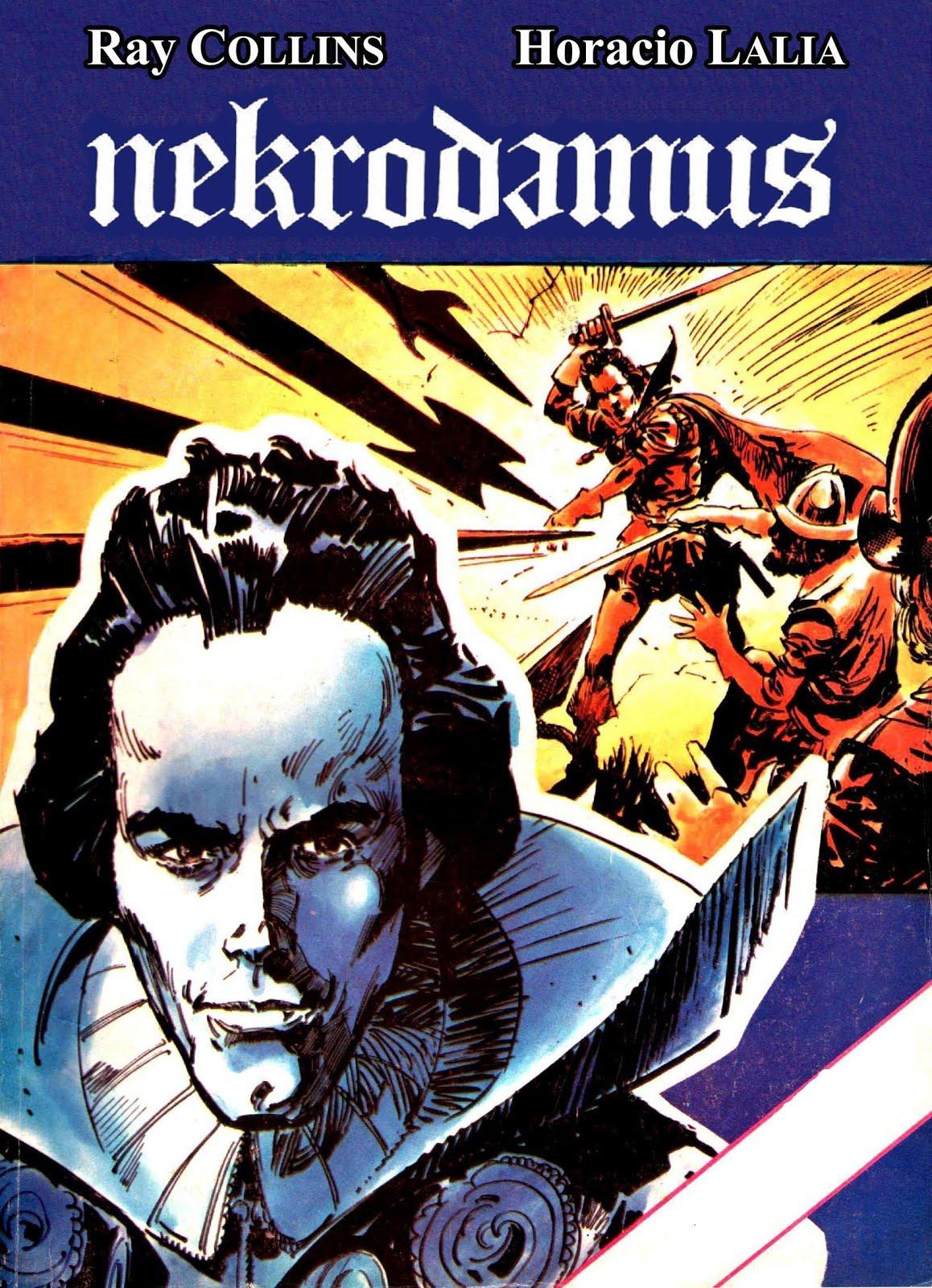 Nekrodamus 4 tomos. Aportado por Frann Dzs - Escaneos del CRG