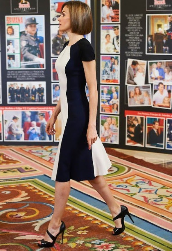 King Felipe And Queen Letizia Attends Audiences In Zarzuela Palace