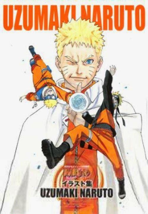 Naruto Uzumaki Illustration Collection Artbook, Masashi Kishimoto, Naruto, Actu Manga, Manga,