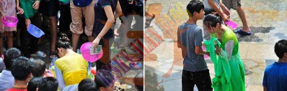 Ribuan Pria Menelanjangi Wanita Pada Water Splashing Festival Yang Kacau Di China [ www.BlogApaAja.com ]