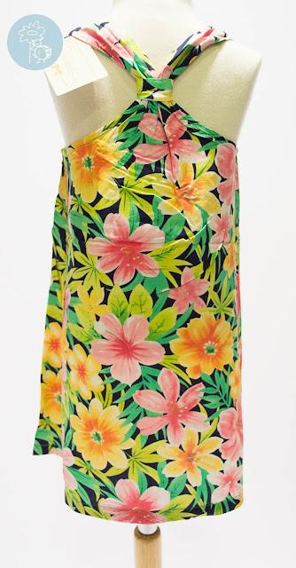 Vestido infantil flores colores Bimbalina en Tienda y Blog moda infantil Retamal