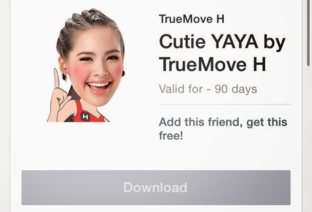 Cutie YAYA by TrueMove H