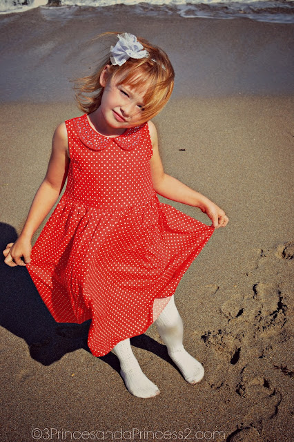 Oshkosh Sparkle Pin Dot Dress #OshKoshKids #Sponsored #MC