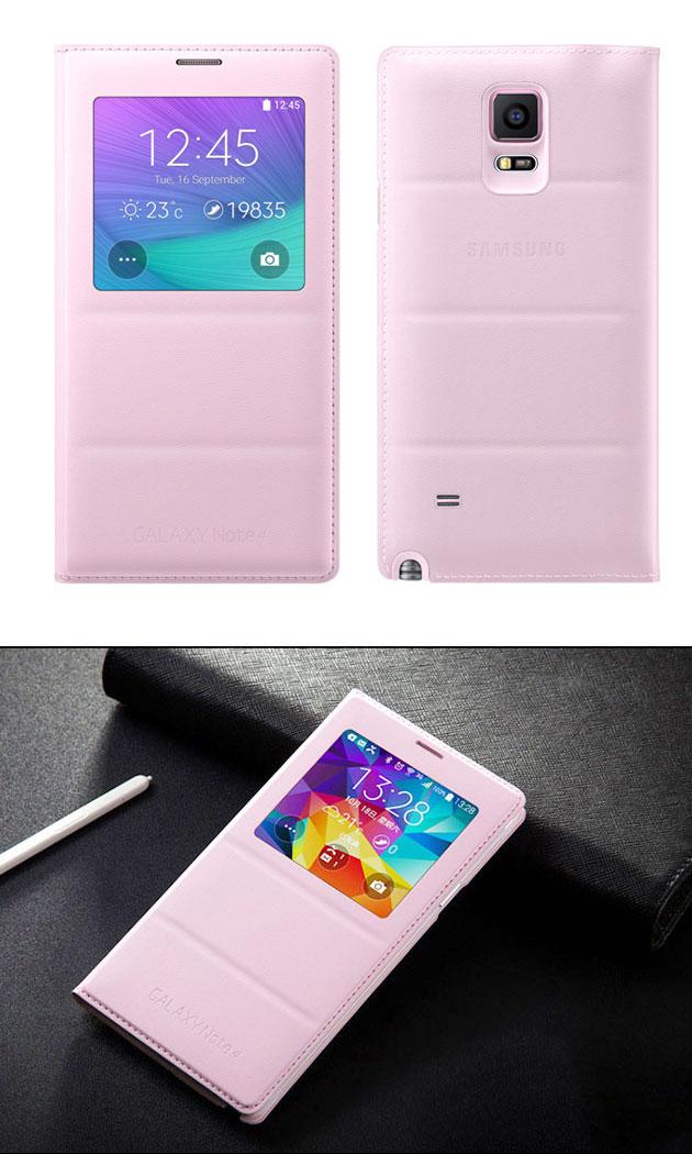 เคส S-View Note 4 รหัสสินค้า 131036 สีชมพู