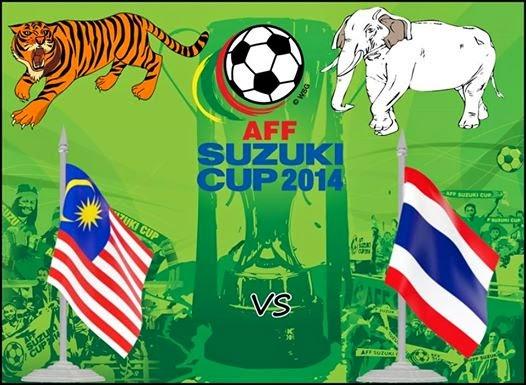 Malaysia vs Thailand Final Piala AFF 2014