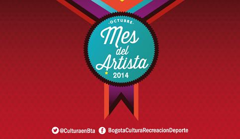 Mes del artista 2014 en Bogotá