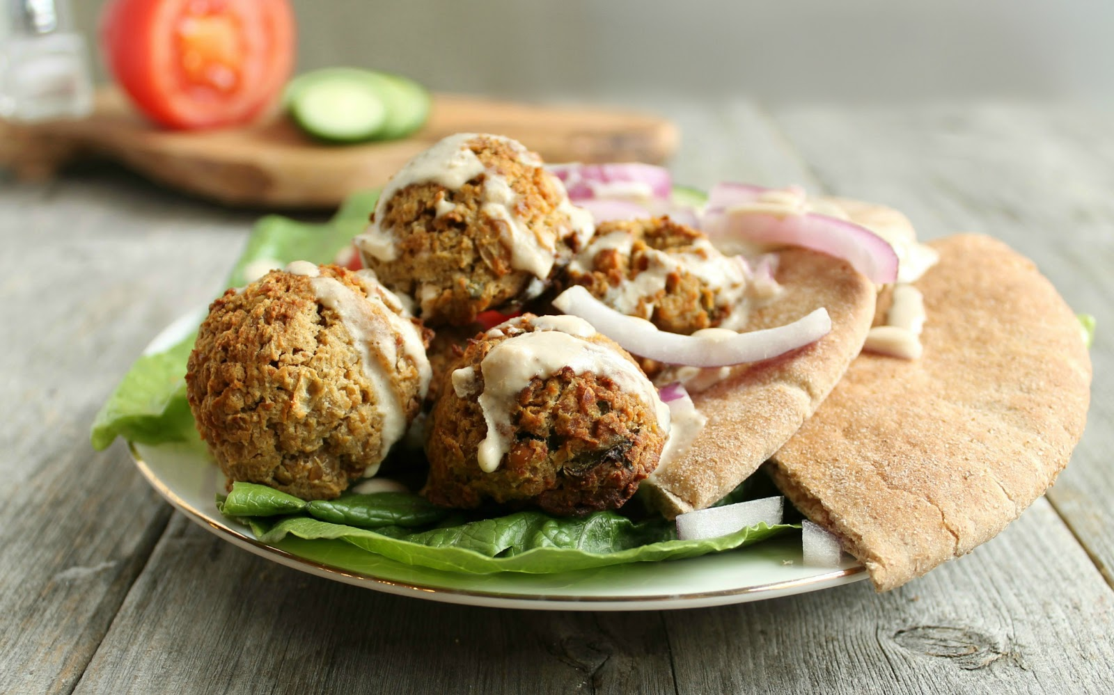"Hungry Couple: Oven ""Fried"" Falafel"