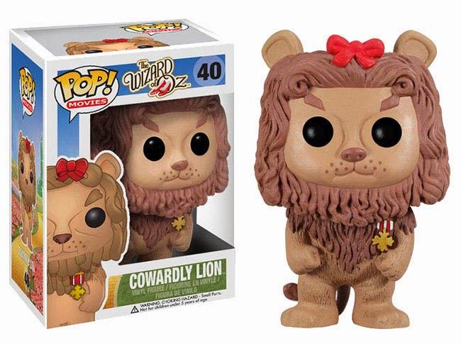 Cabezón León Cobarde del Mago de Oz