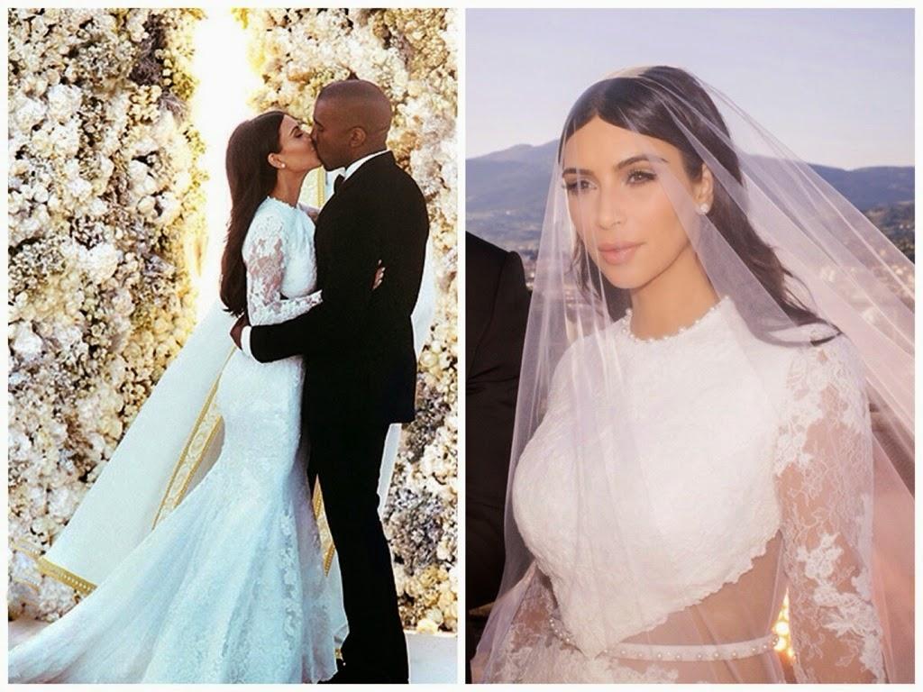 abiti da sposa vip, abito sposa kim kardashian