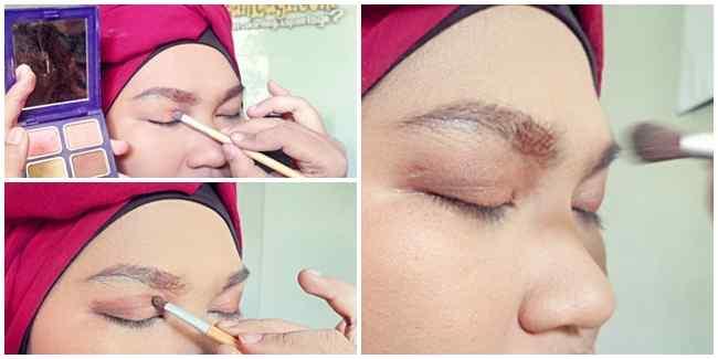 Tutorial Make up wajah Bulat