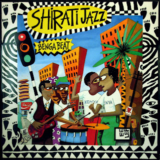Shirati Jazz - Benga Beat,Carthage Records 1987