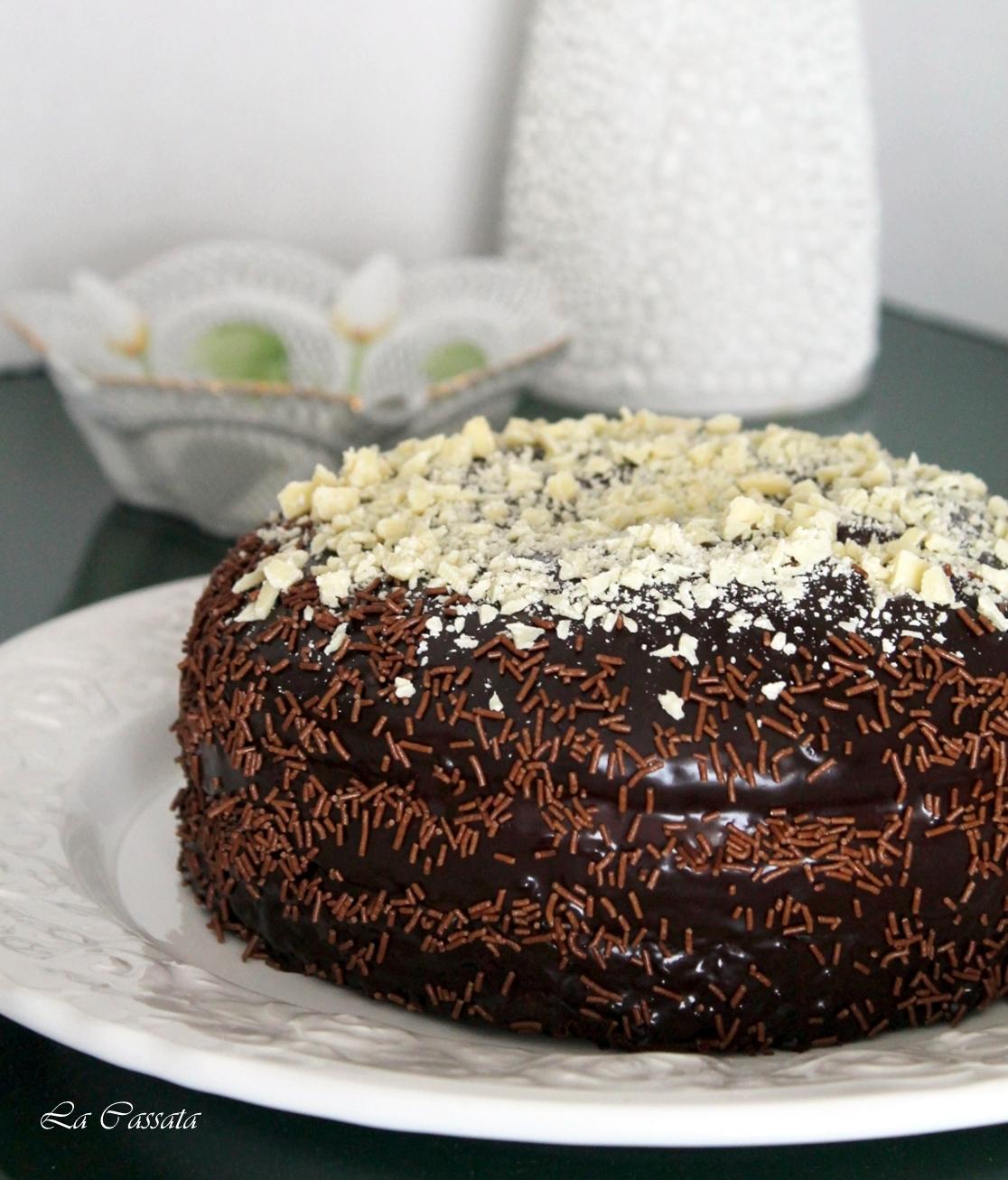 Tarte au chocolat avec cr me de mascarpone et caramel mou m me sans gluten la cassata - Tarte au chocolat sans oeuf ...