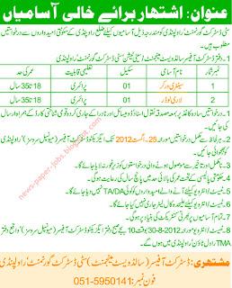 District Officer Rawalpindi