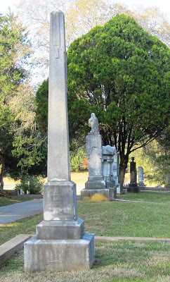 Gravestone of William O. Reeves, son of Reuben, at the city cemetery in Palestine Texas