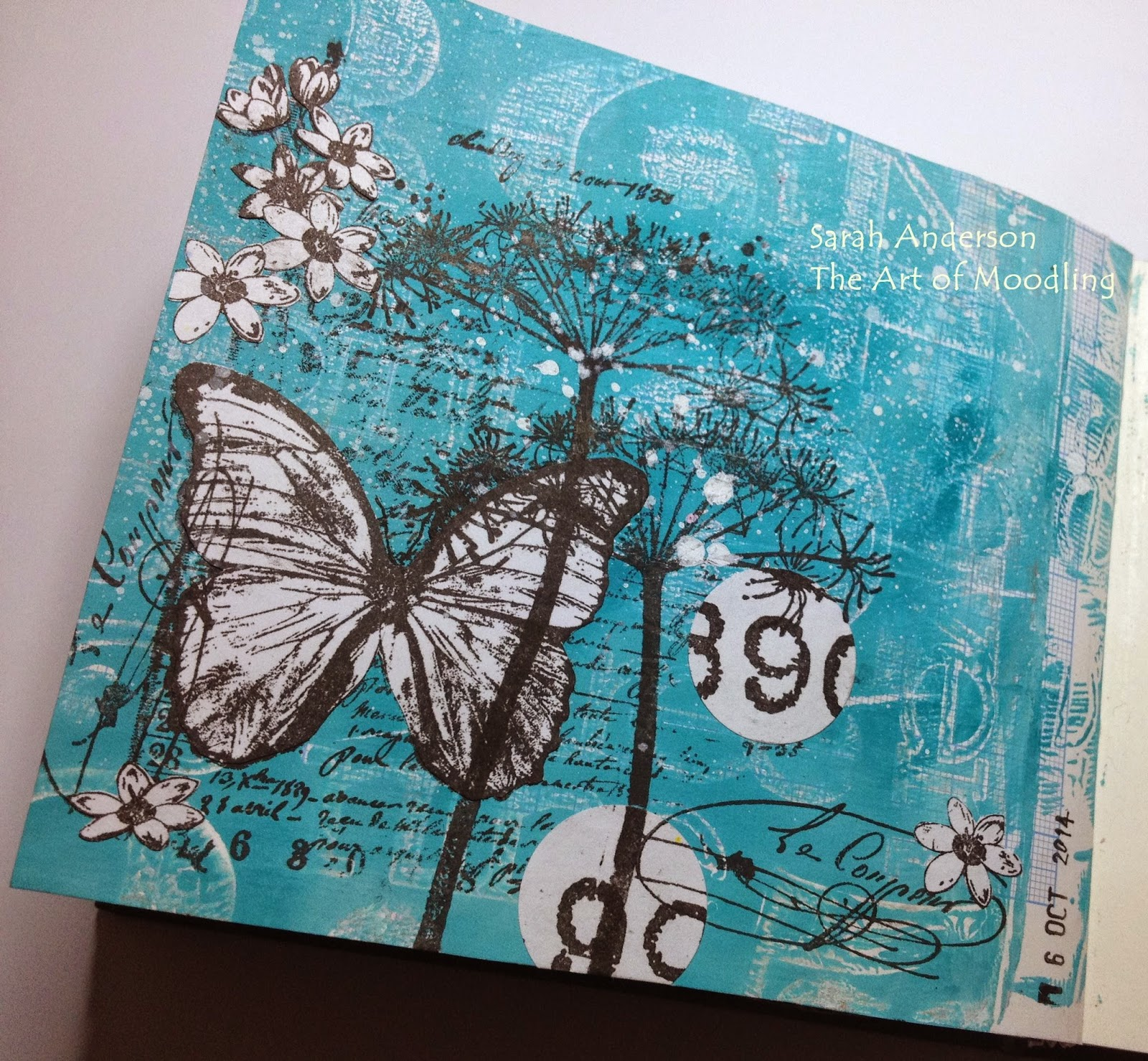 Fantastic The Art Of Moodling A Paper Artsy Journal Page Download Free Architecture Designs Rallybritishbridgeorg