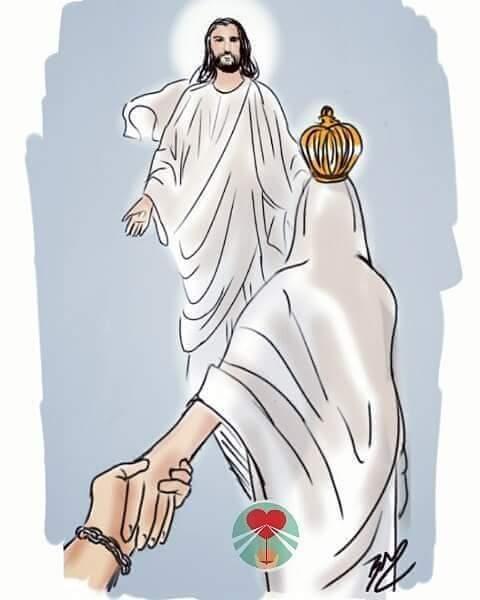 Maria Nos leva até seu Filho