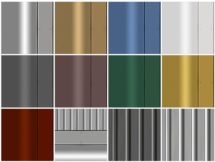 sketchup texture metals texture metals panels. Black Bedroom Furniture Sets. Home Design Ideas