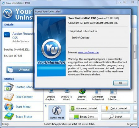 Your Uninstaller! 7.4.2012.05 Portable