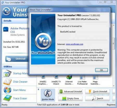 Your Uninstaller! 7.4.2012.05 Portable