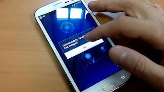 Mengatasi TouchWiz Samsung Galaxy (Android) Terhenti atau Error