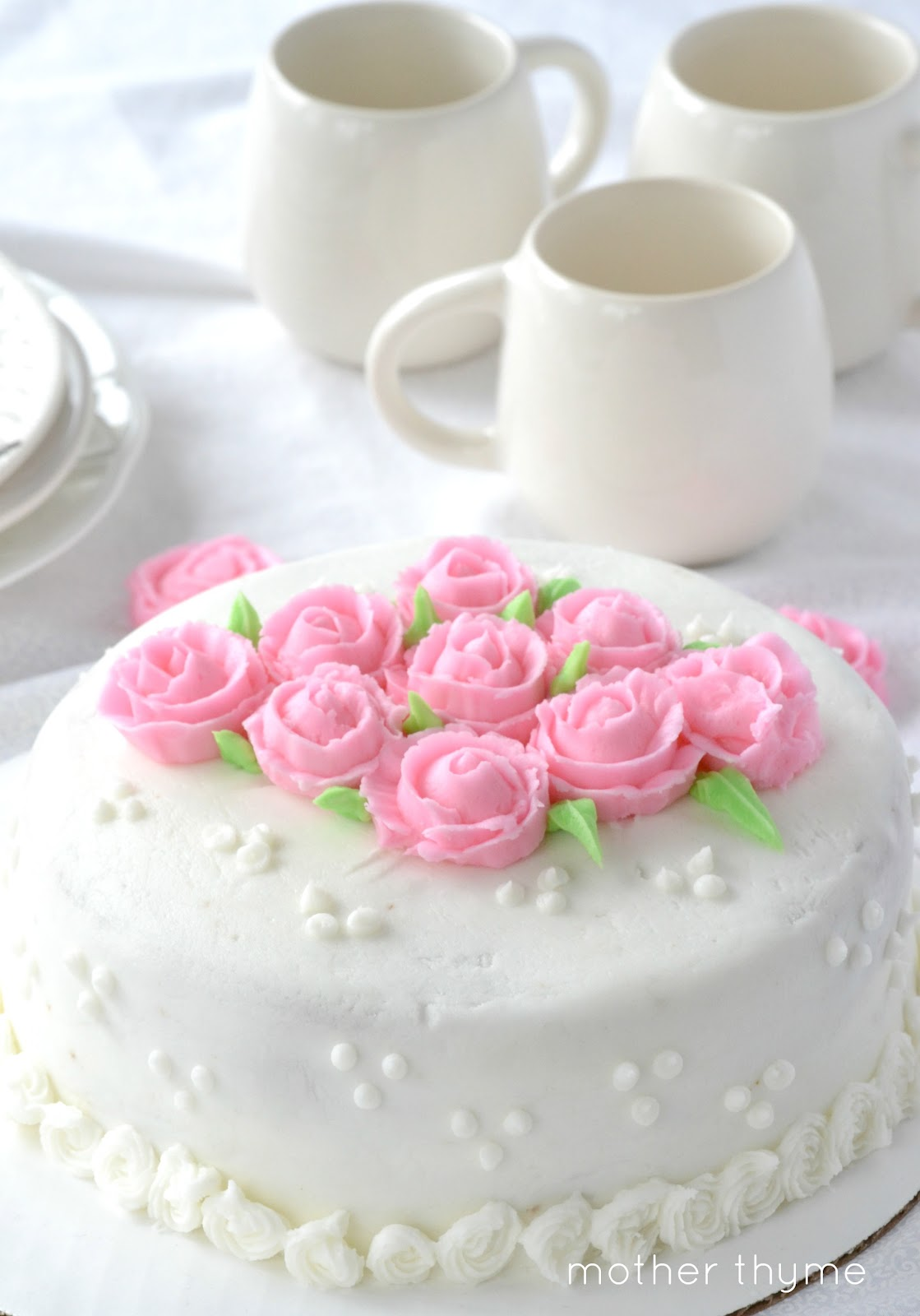 Cake Decorating On Facebook : Cake Decorating: Part 3 - Mother Thyme