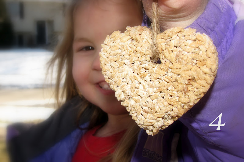 Valentine kids crafts and party ideas reader submission for Bird seed glue recipe