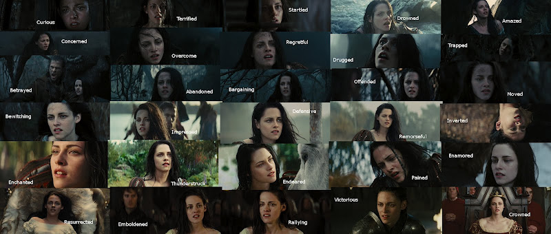 The Many Faces of Kristen Stewart