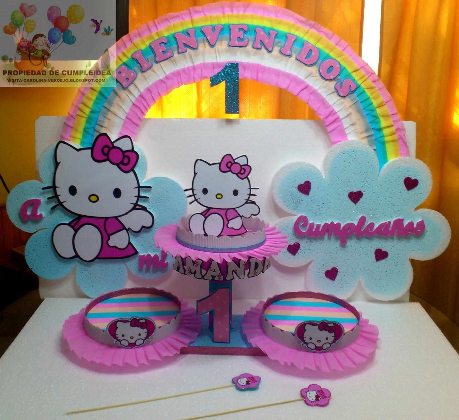 Decoraciones infantiles hello kitty - Decoracion hello kitty ...