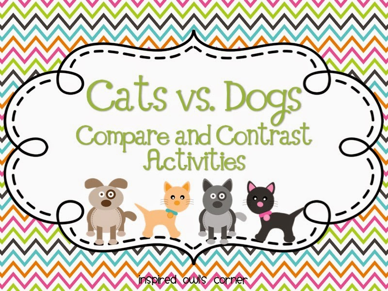 compare and contrast cats and dogs essay This essay aims to present similar and opposite sides of cats and dogs keeping, feeding, and caring it will compare and contrast all aspects of these animals as pets its goal is to help people understand whether cats or dogs suit their character and everyday routine as a pet.