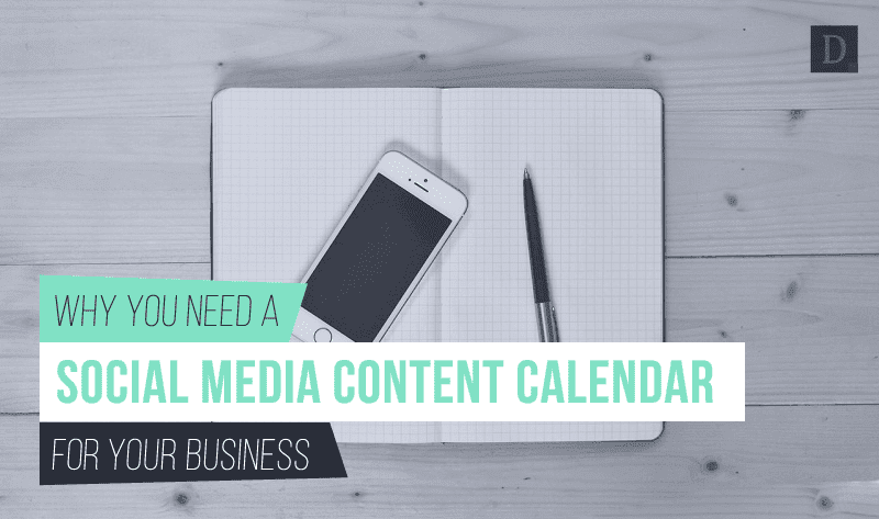 Why Your Business Needs a #SocialMedia Content Calendar and How to Create One - #infographic