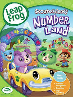 Numberland+Cover LeapFrog Huge DVD bundle Giveaway and Review!  2 winners!