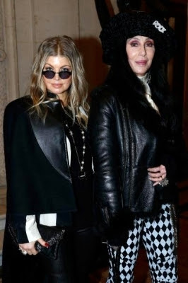 One-name singers Fergie and Cher