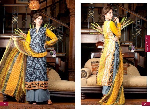 Designer Embroidered Collection by ZS Textile