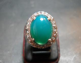 BC72- Batu Bacan Biru Palamea Kristal... Serat Halus !!!_SOLD