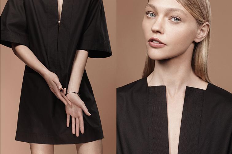 Sasha Pivovarova by Craig McDean for Totême, styled by Karl Templer, supermodel