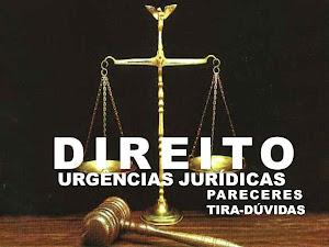 DIREITO URGÊNCIAS JURÍDICAS