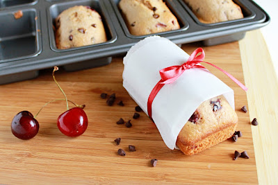 It Bakes Me Happy: Chocolate Cherry Loaf