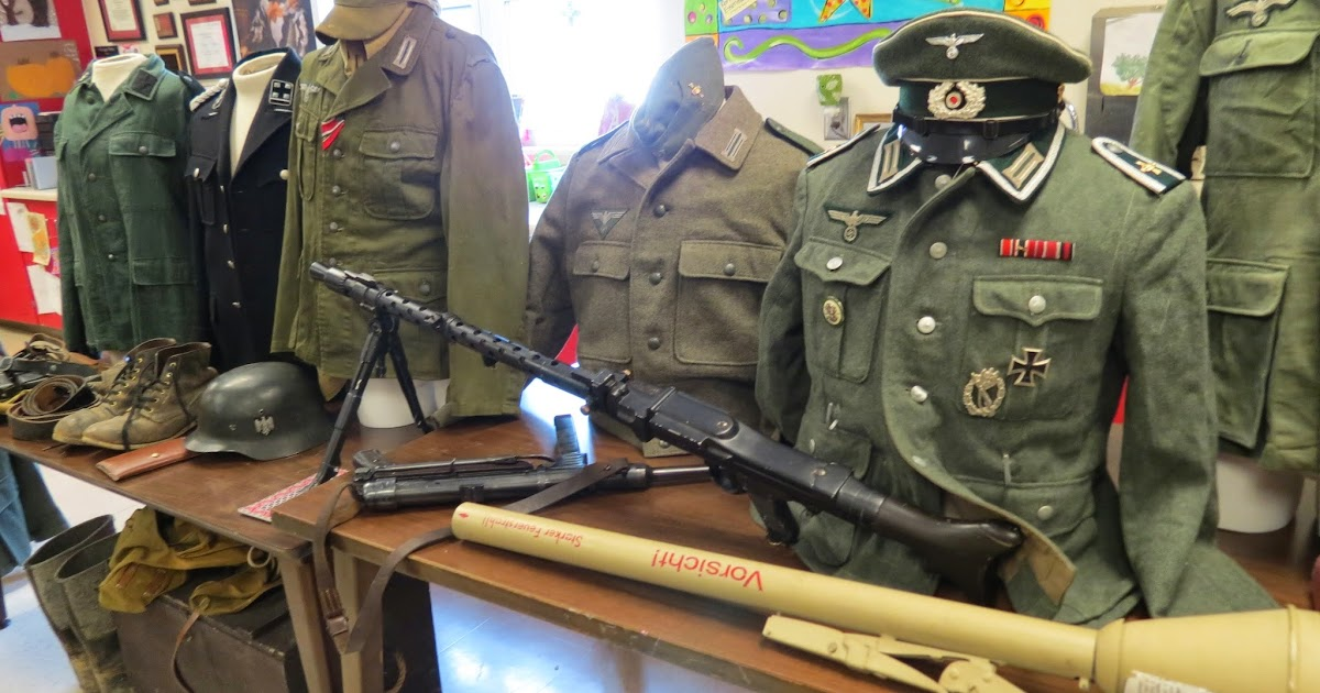 AESGATE: WWII German Soldier (reenactor) Visits G.A.T.E.