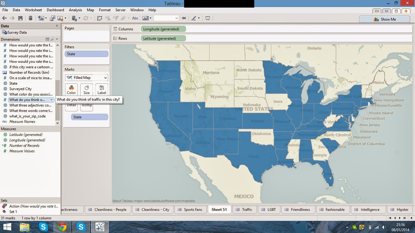 Dg data services viz up your data creating filled maps with pie once the states are filled in you can change the color as you want by clicking on the color button on the marks card alternatively you can add a data nvjuhfo Image collections