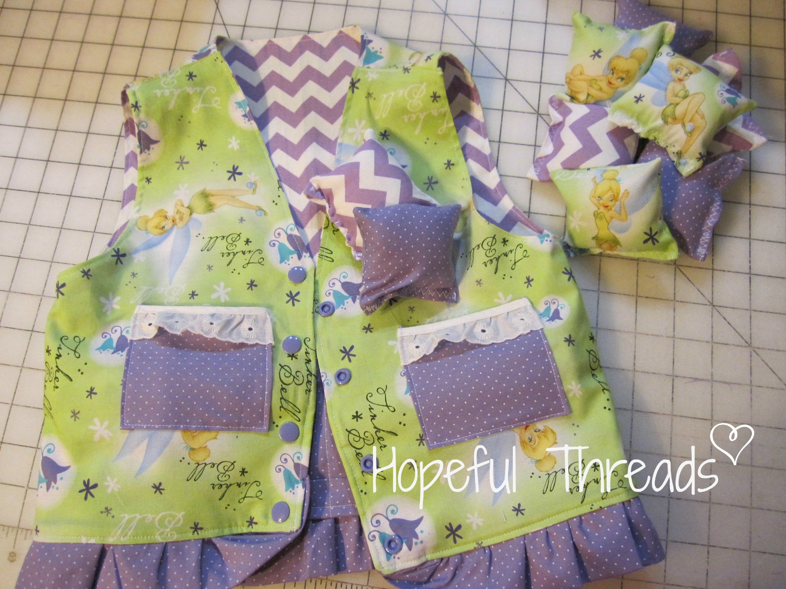 Hopeful Threads Pattern Review Weighted Vest by Ladybug Bend