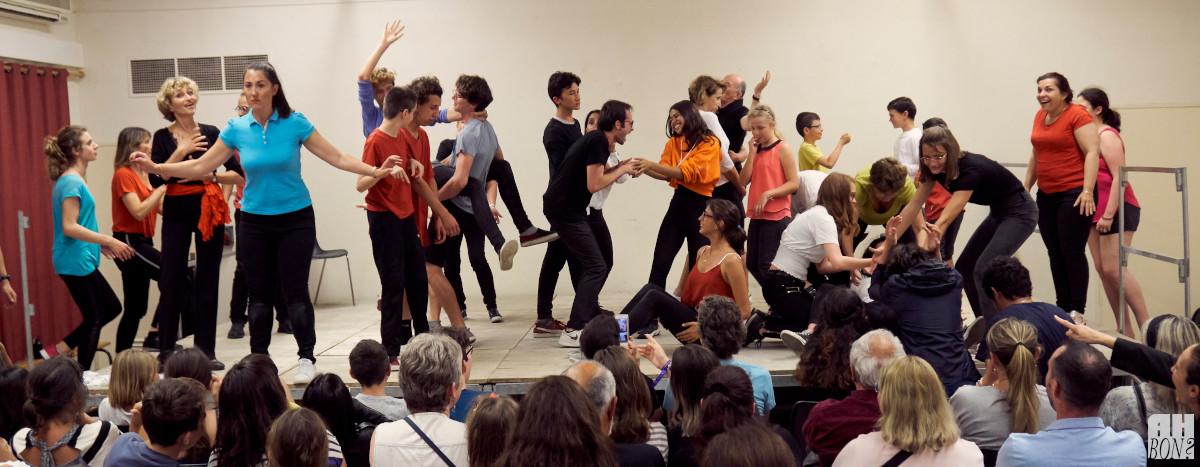 Ah Bon - École de Théâtre - Ateliers - Improvisations