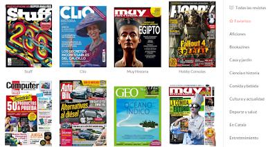 Gran catálogo de revistas en Ztory